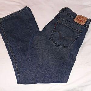 """Vintage Mens Levi's 527 Slim Bootcut Jeans 34""""x32"""""""
